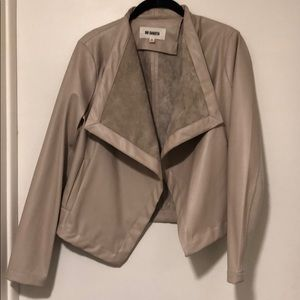 BB Dakota Faux leather and suede jacket